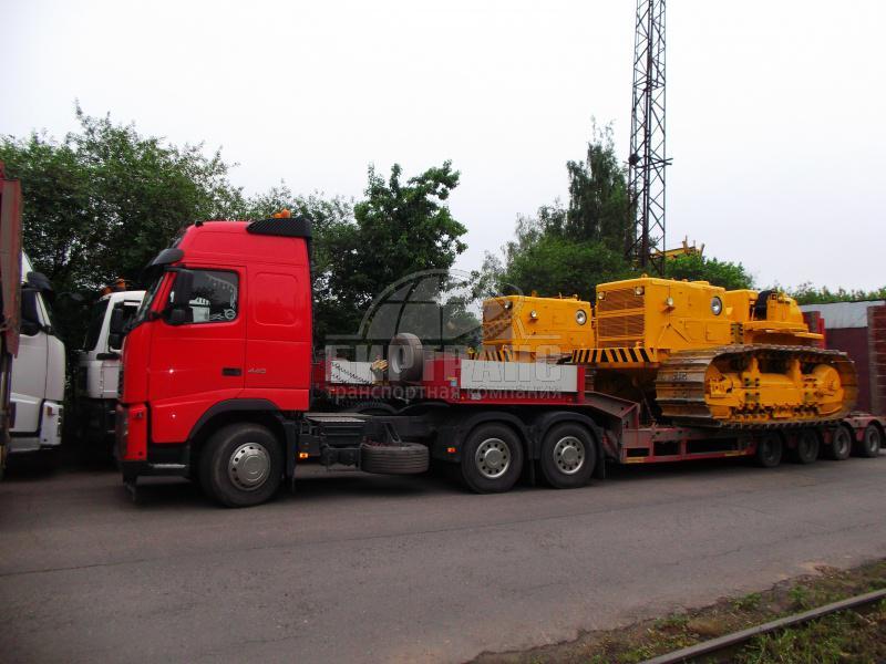 Перевозка трубоукладчика автомобильным транспортом